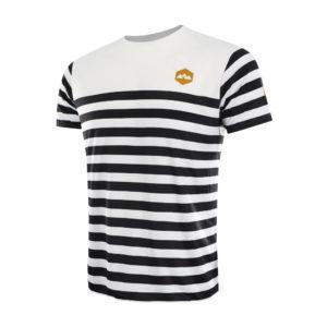 T shirt Trail Jazkibel blanc bideantrail